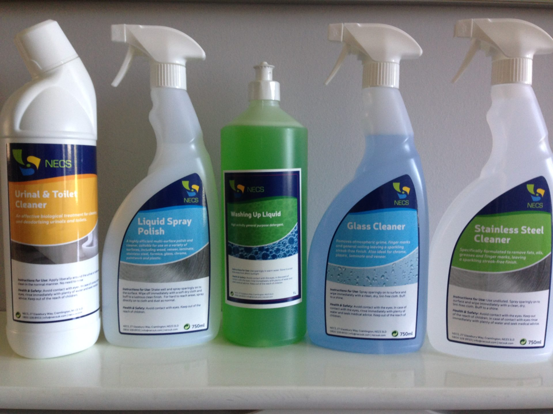 Our Eco Friendly Cleaning Products